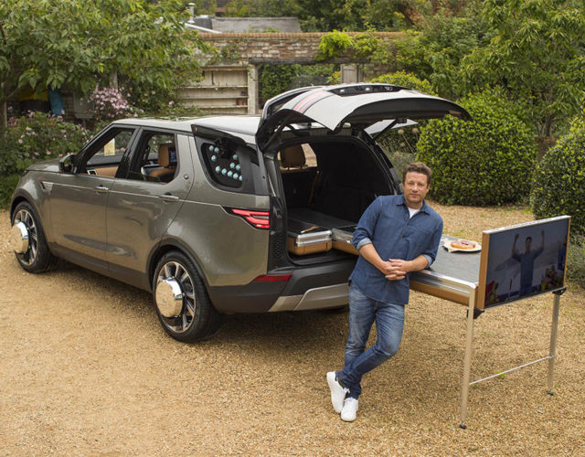 Jamie Oliver's bespoke Land Rover Discovery