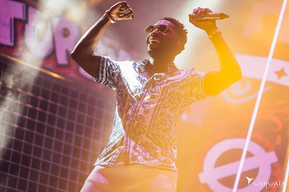 Tinie Tempah performing at Disturbing Ibiza, Ushuaïa, 2017