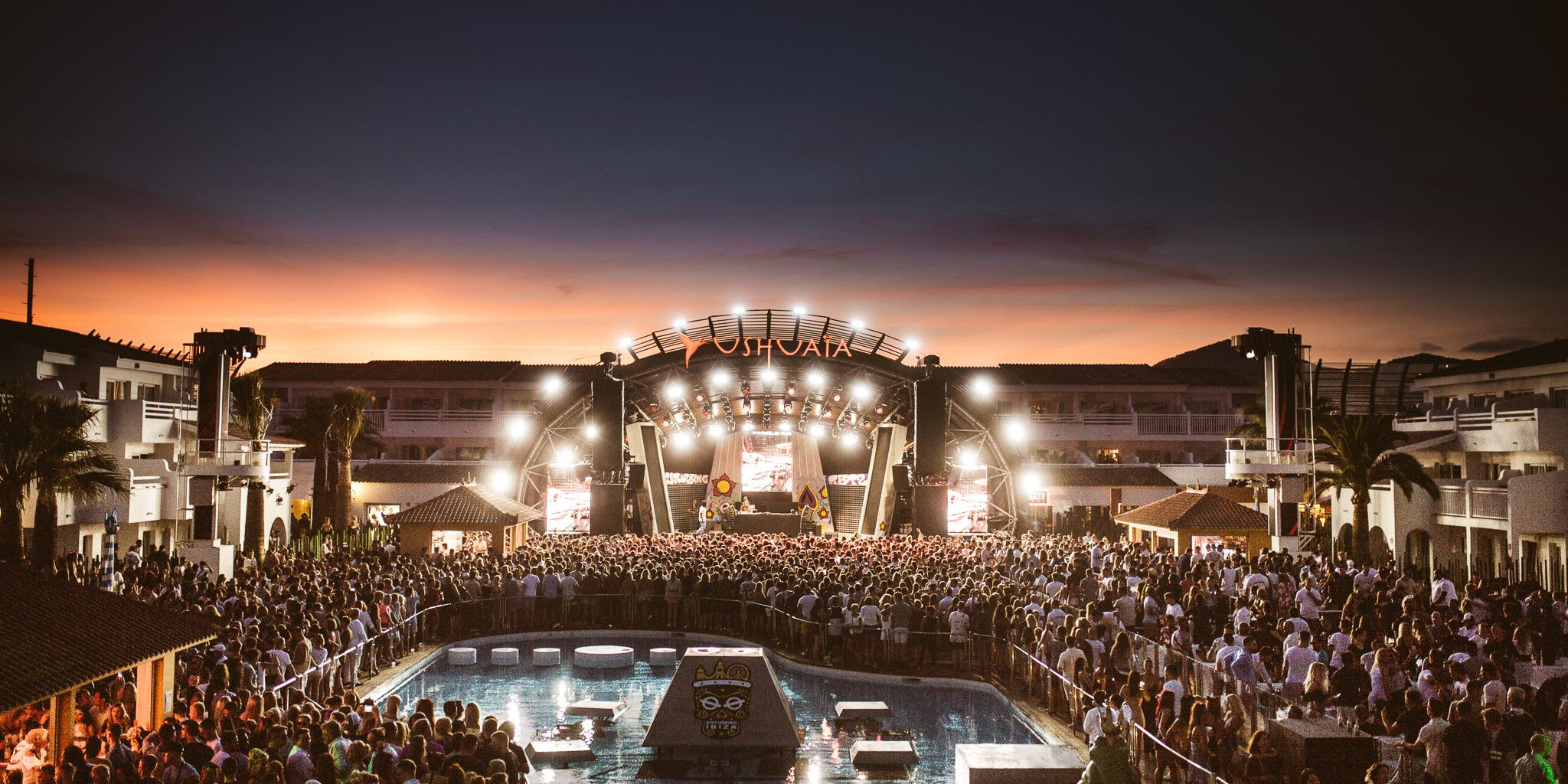 Tinie Tempah performing at Disturbing Ibiza