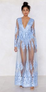 Ice Cold Lace Maxi Dress