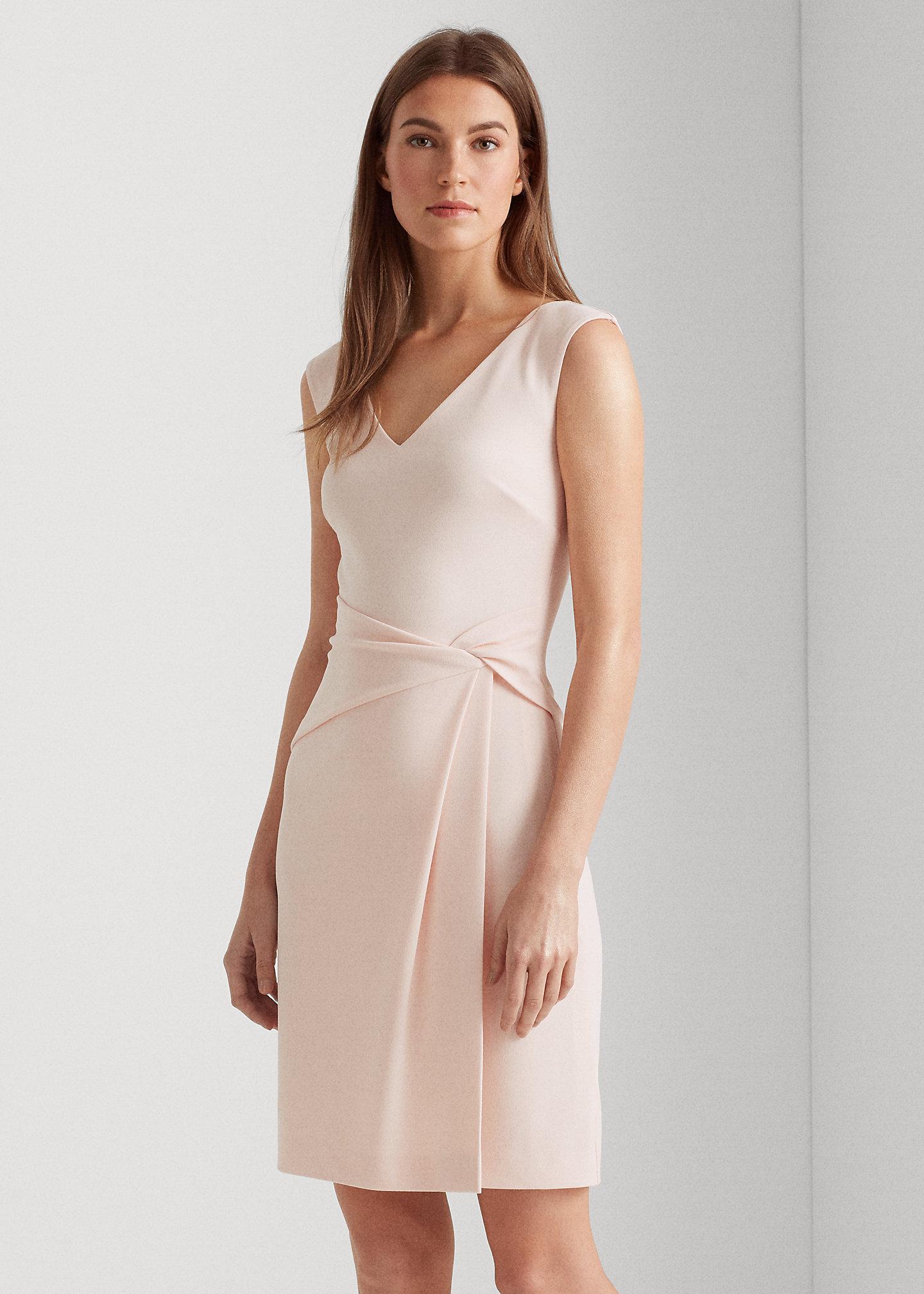 Ralph Lauren Sale - Lauren Jersey V-Neck Dress