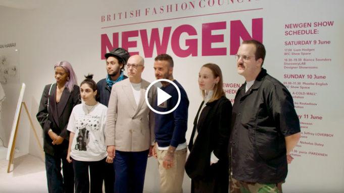 how to watch london fashion week