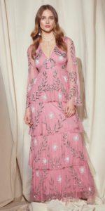 Nasty Gal Studio Billie Embellished Maxi Dress