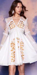 Nasty Gal Studio Zelda Embroidered Dress