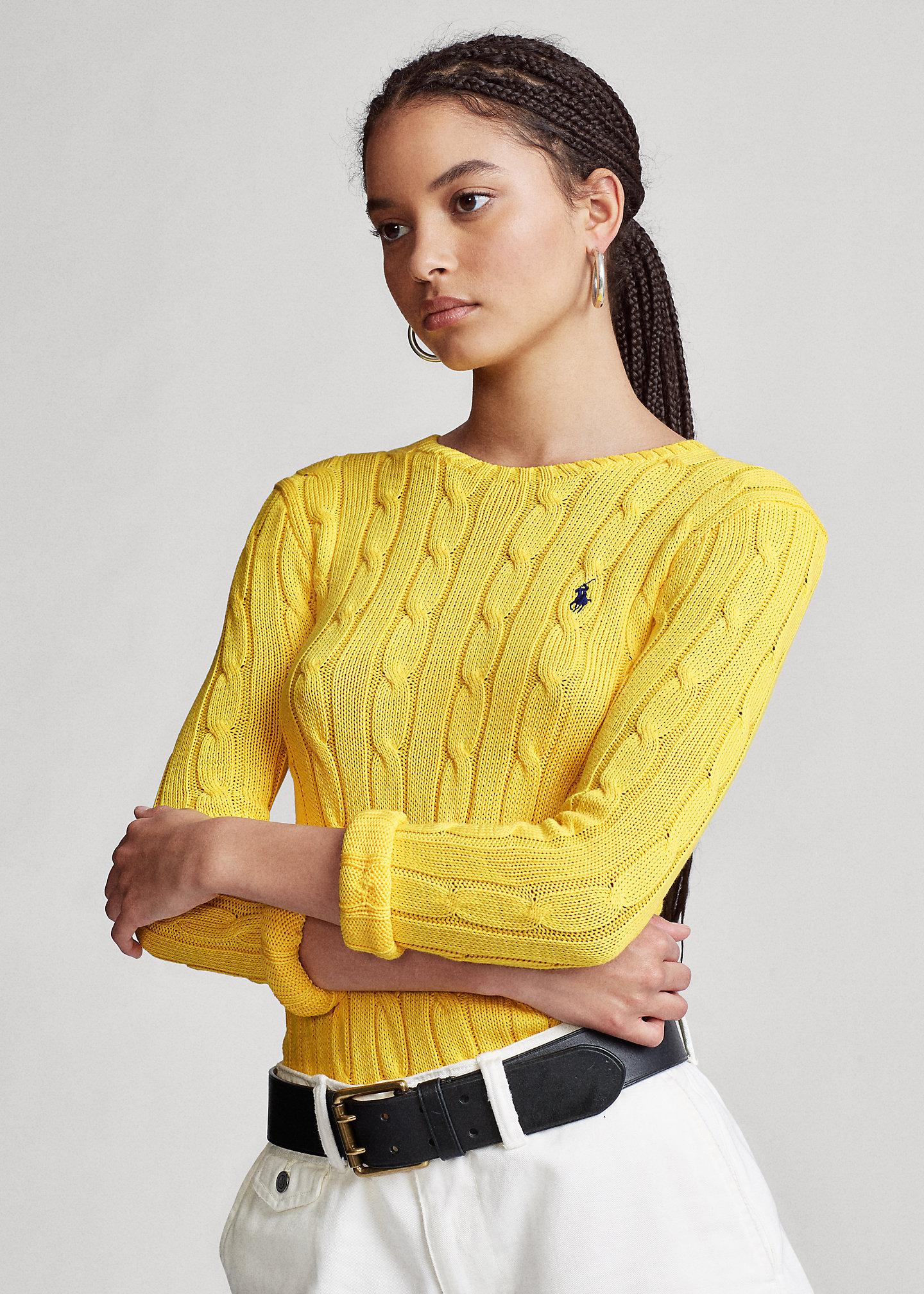 Ralph Lauren Sale - Polo Ralph Lauren Cable-Knit Cotton Jumper