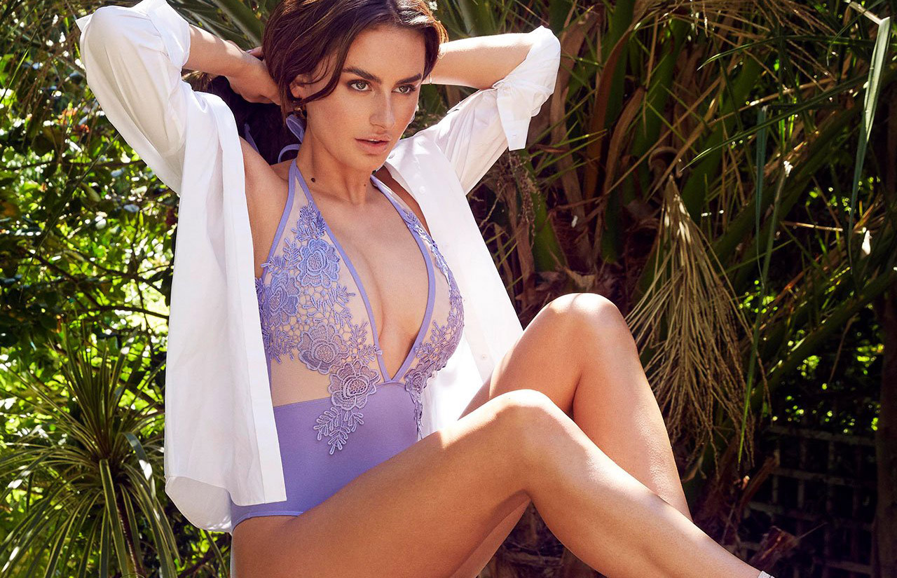 179d753cdc Love Island s Amber Davies exclusive swimwear collab with Bluebella ...