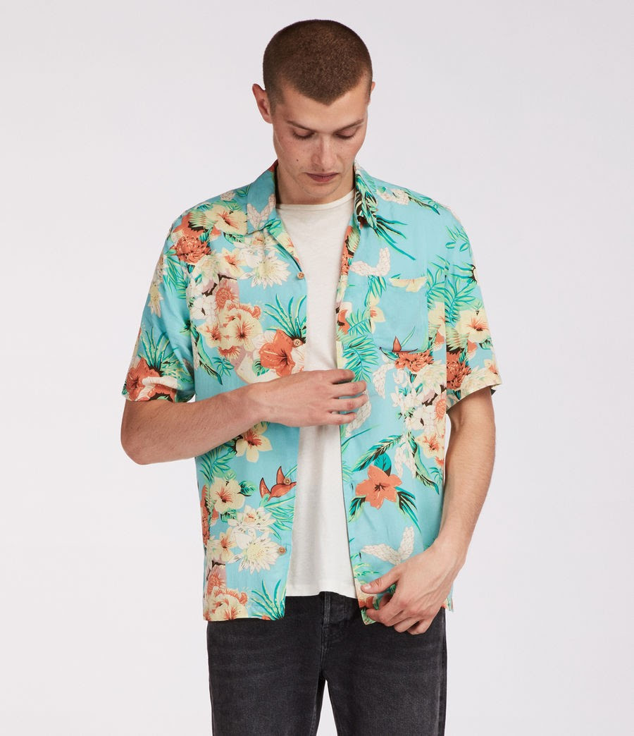 Calypso Hawaiian Shirt Was £85.00 Now £47.20 in Promo