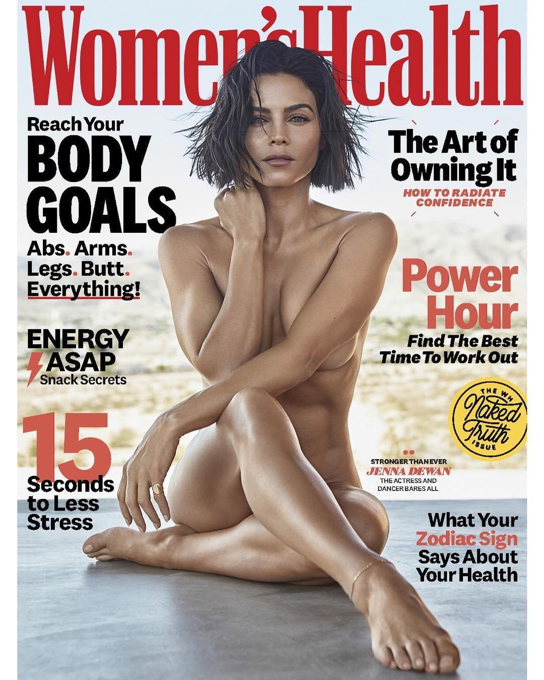 Jenna Dewan goes nude -