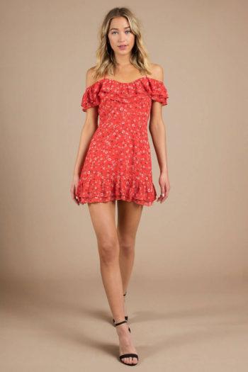 Kendra Floral Print Dress