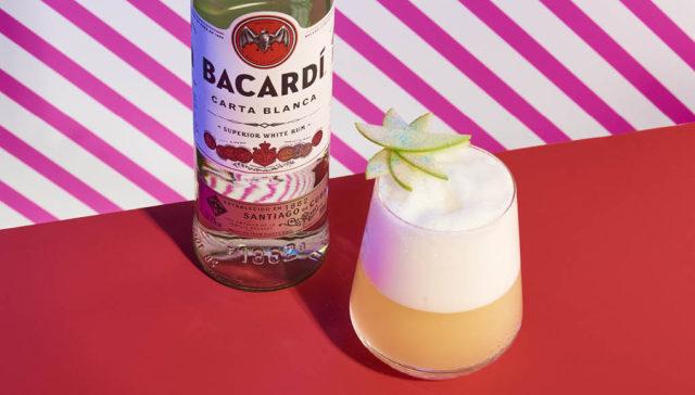 Bacardi rum - Carta Hopster - The Curtain serve