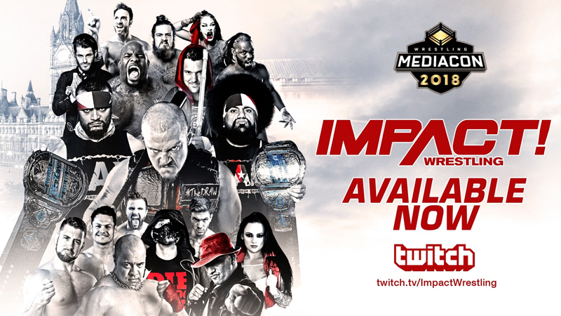 impact wrestling on twitch tv