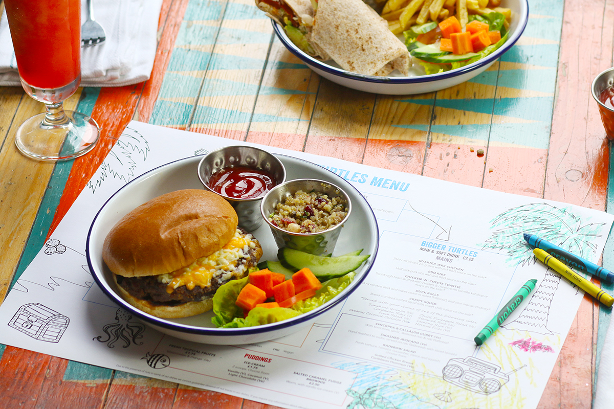 Kids Eat Free This Half Term At Turtle Bay Brixton Flavourmag