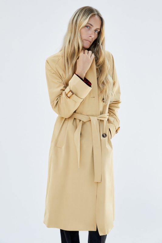 Zara Long trench coat