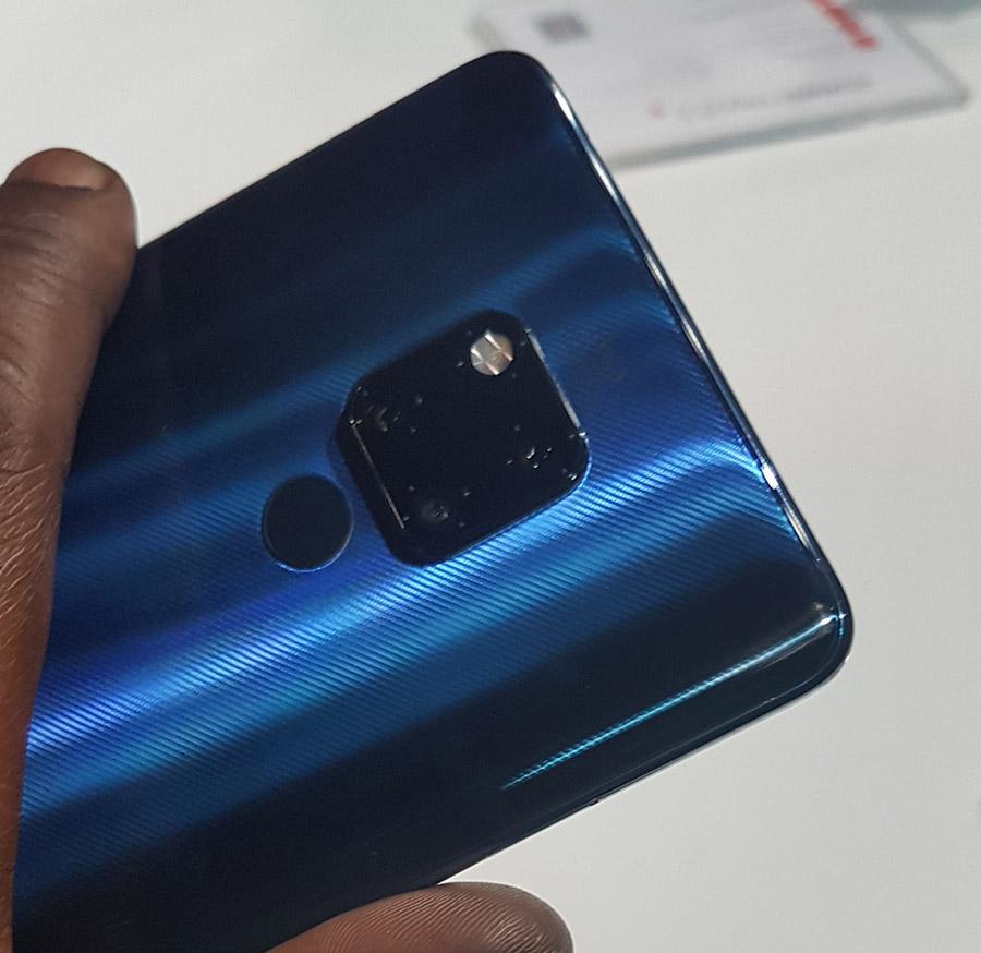 Huawei Mate 20 Pro - 3 X Camera's