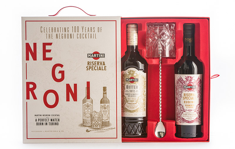 MARTINI Negroni Cocktail Gift Set
