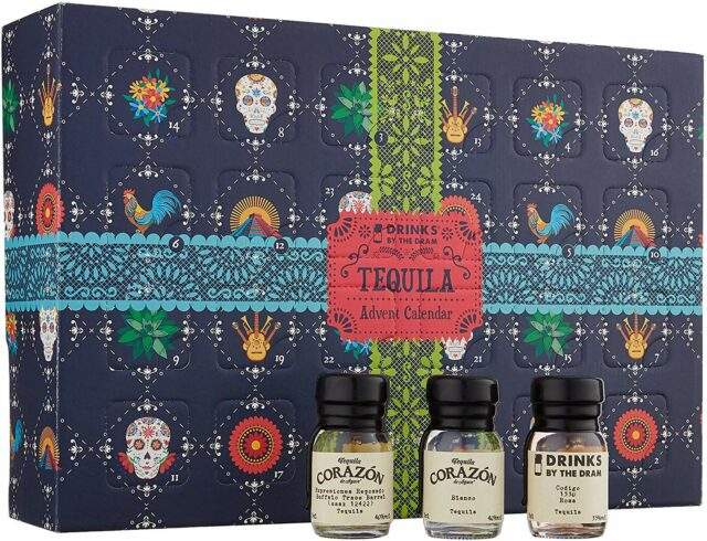 Drinks By The Dram Tequila Advent Calendar