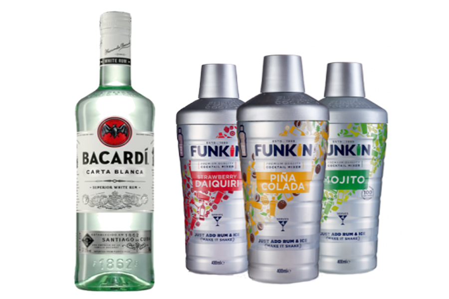 Funkin Bacardi Rum Bundle