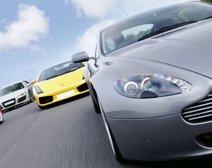 Triple Supercar Drive Experience