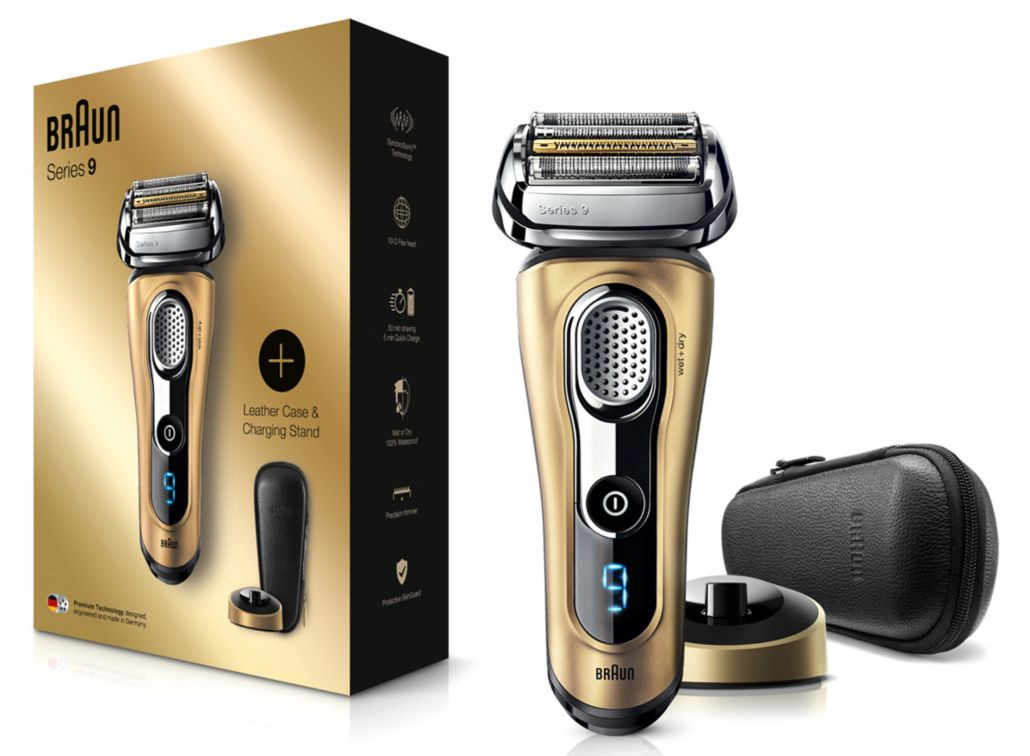 braun series 9 gold
