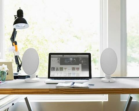 kef egg speakers