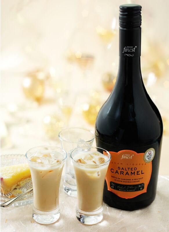 Tesco Finest Salted Caramel Cream Liqueur 70Cl