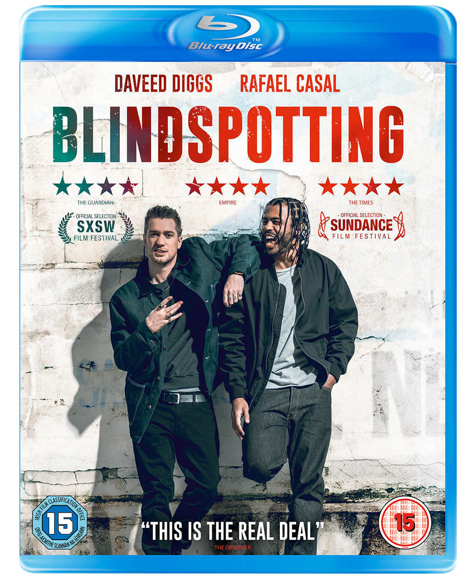 Blindspotting bluray case