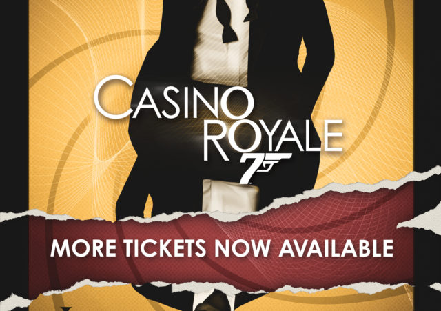 Secret Cinema Presents Casino Royale - extra tickets out now