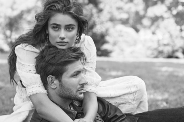 Taylor Hill and Michael Stephen Shank star in Ralph Lauren Romance fragrance campaign