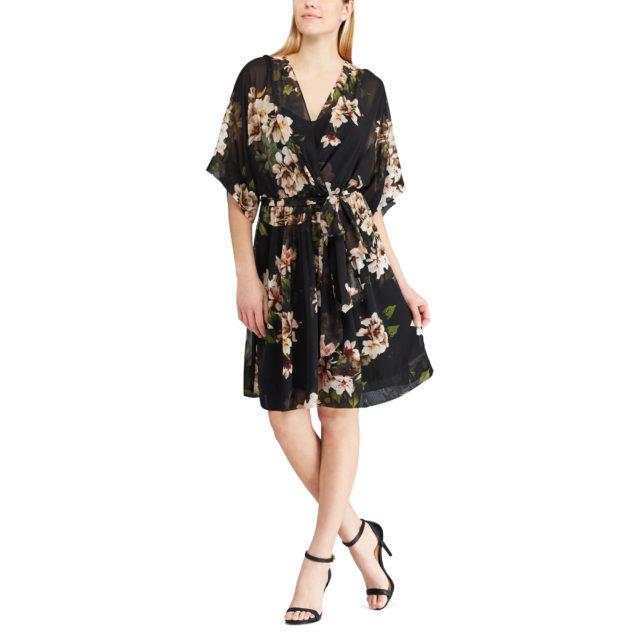 ralph lauren sale Floral V-Neck Dress