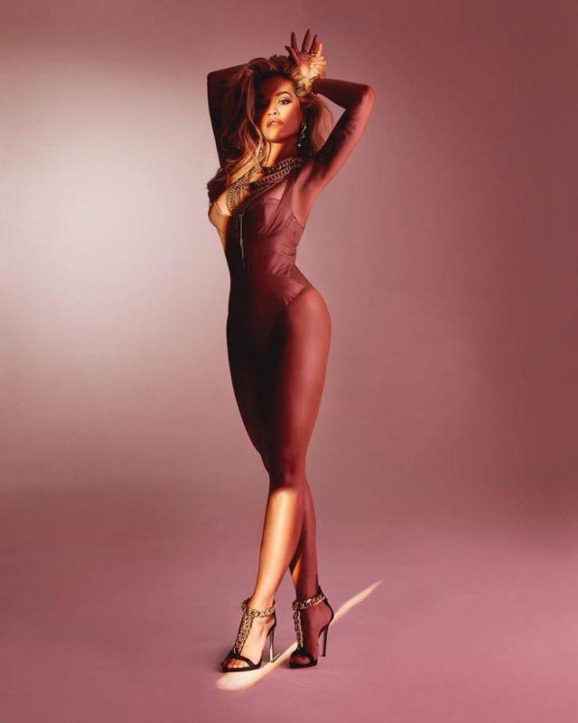 Rita Ora Giuseppe Zanotti Sexy Shoe Campaign