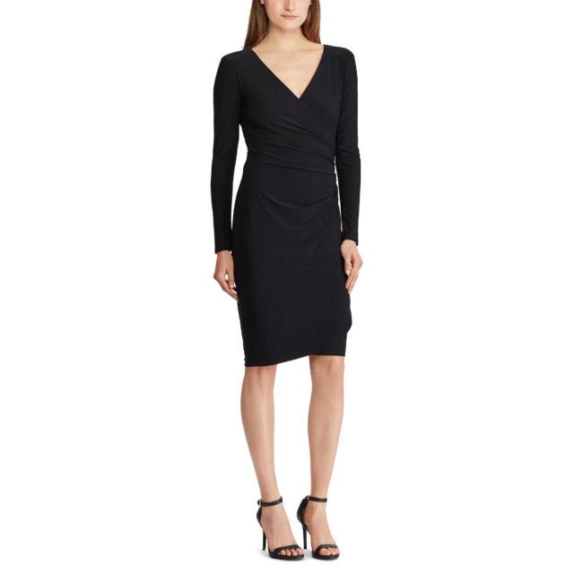 Ralph Lauren Sale - Ruched Jersey Dress