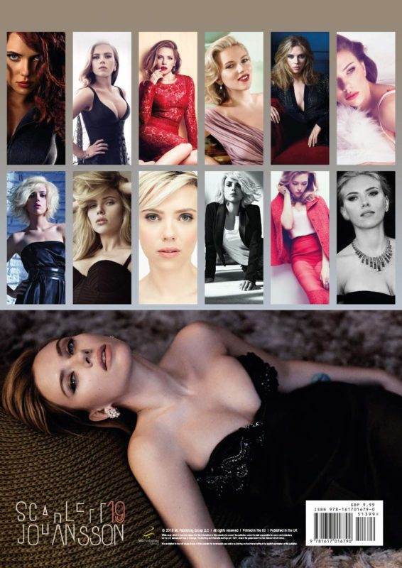 Scarlett Johansson 2019 Calendar