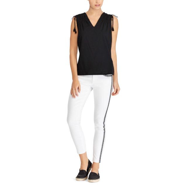 Ralph Lauren Sale - Striped Skinny Jean