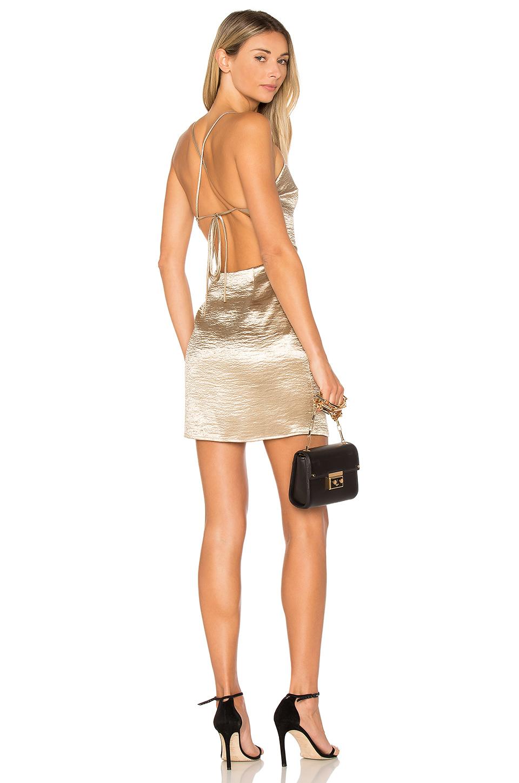 Astrid Cross Back Mini Dress