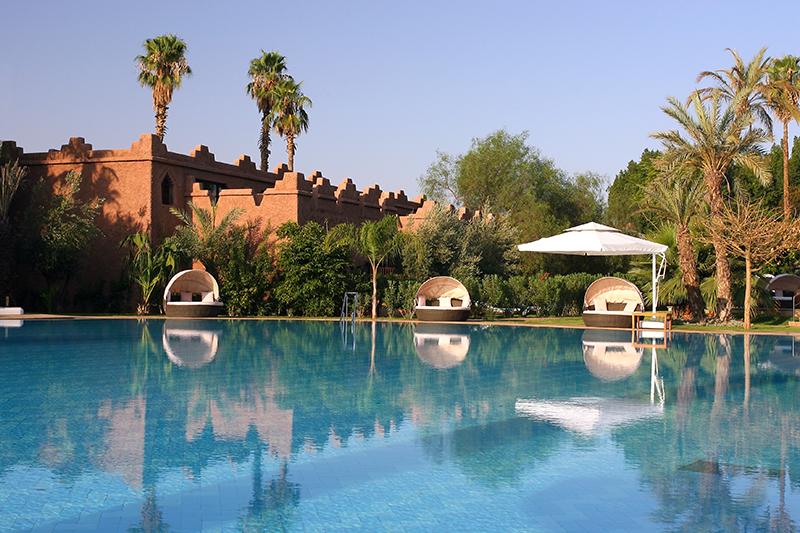 Es Saadi Marrakech Resort - Vue des Ksars