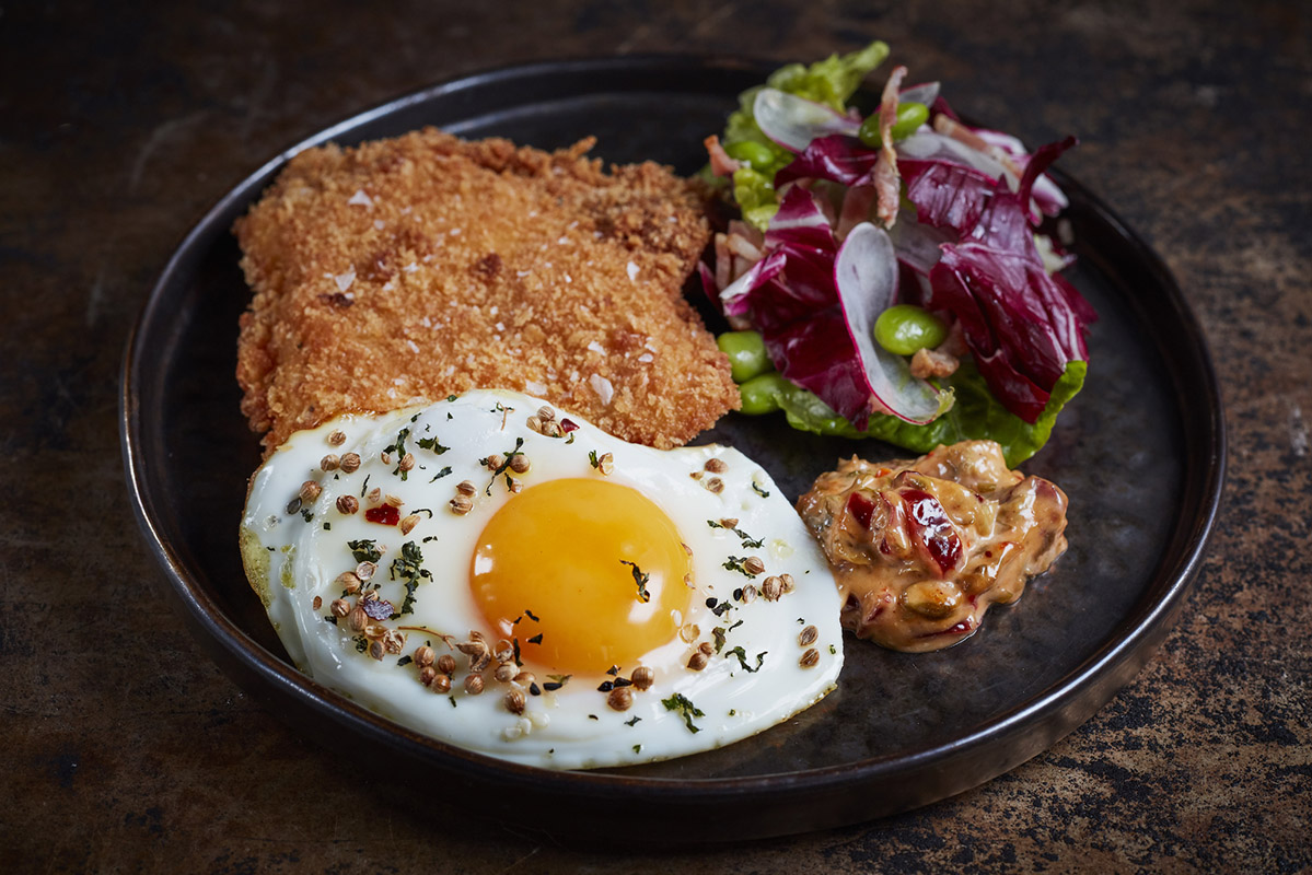 Savage Garden Brunch Panko Chicken
