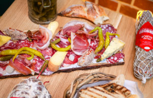artisanal charcuterie and cheese bar