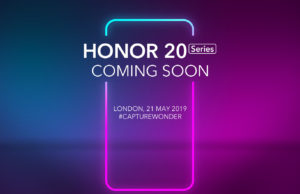 Honor 20 series coming soon