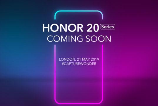 Honor 20 series coming soon