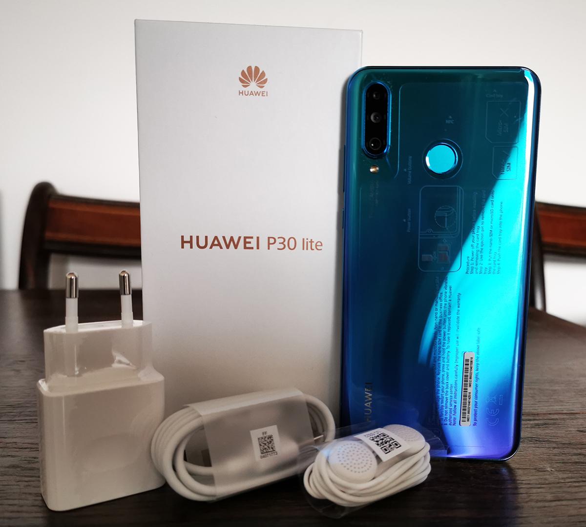 Huawei P30 lite unboxed