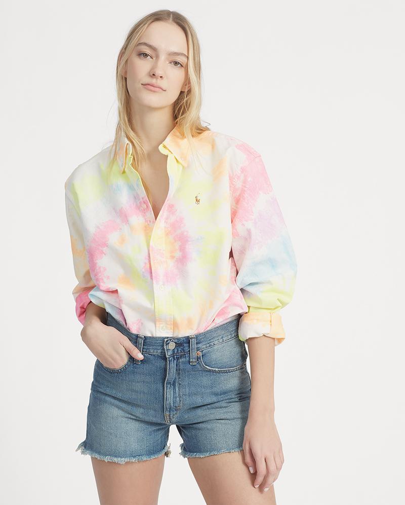 POLO RALPH LAUREN Big Fit Tie-Dye Shirt