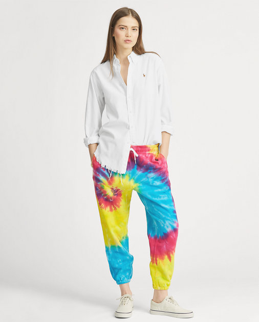POLO RALPH LAUREN Tie-Dye French Terry Tracksuit Bottom