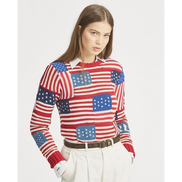 Flag Cotton Jumper