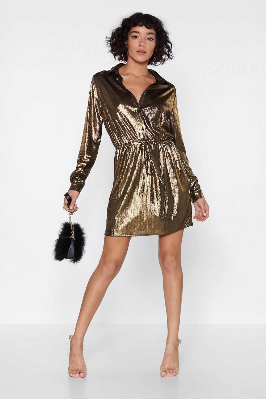 Billie Jean Metallic Dress
