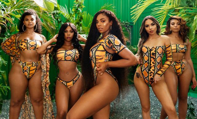 PrettyLittleThing x Ashanti - The swimwear collection