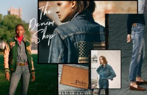 ralph lauren denim collage