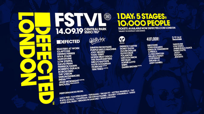 Defected Festival London 2019