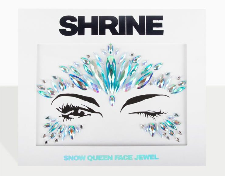 The Gypsy Shrine Halloween Snow Queen Face Jewel