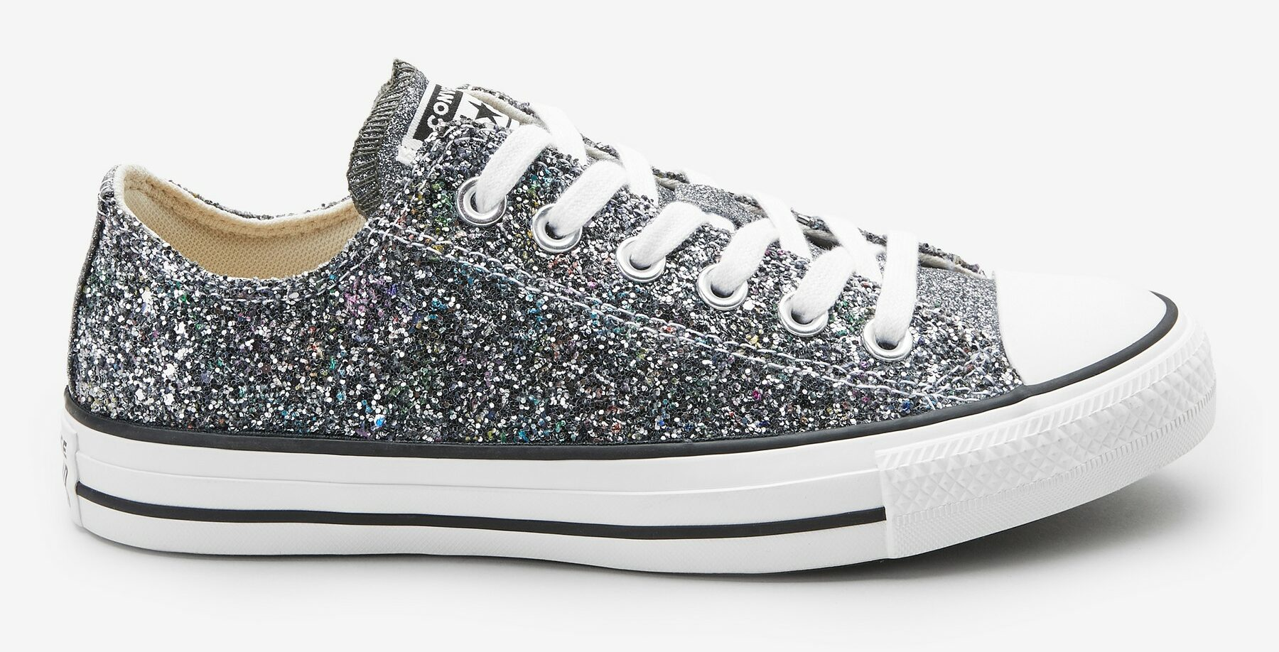 Converse All Star Glitter Ox Trainers