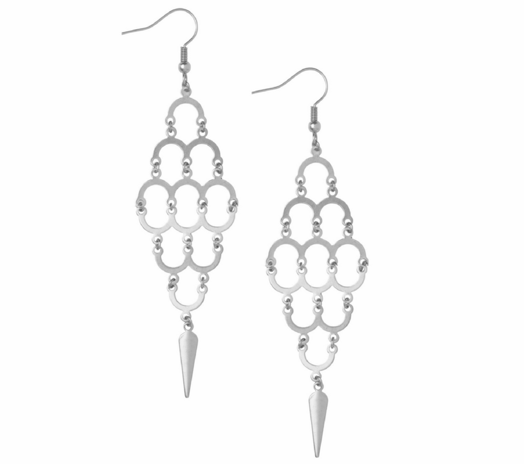 Aefifa Silver Earrings